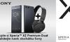 XZ Premium Dual se sluchátky