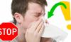 Okamžitý lék na výtok z nosu?